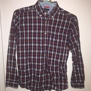 Tommy Hilfiger Boys Dress Shirt Size M (12/14)